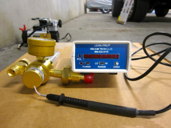 Electronic Helium Tracer Tools